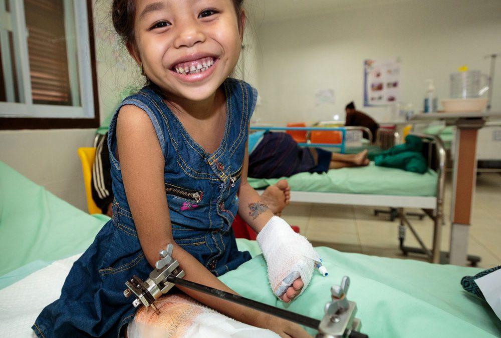 Send Medical Supplies to Sick Kids in Laos