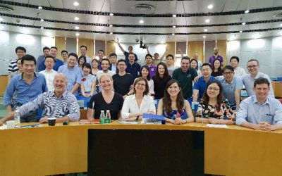 BBS CEO Speaks at Tsinghua University