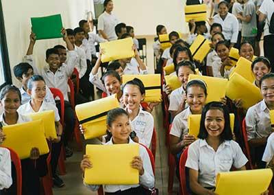 Build Schools in Rural Cambodia