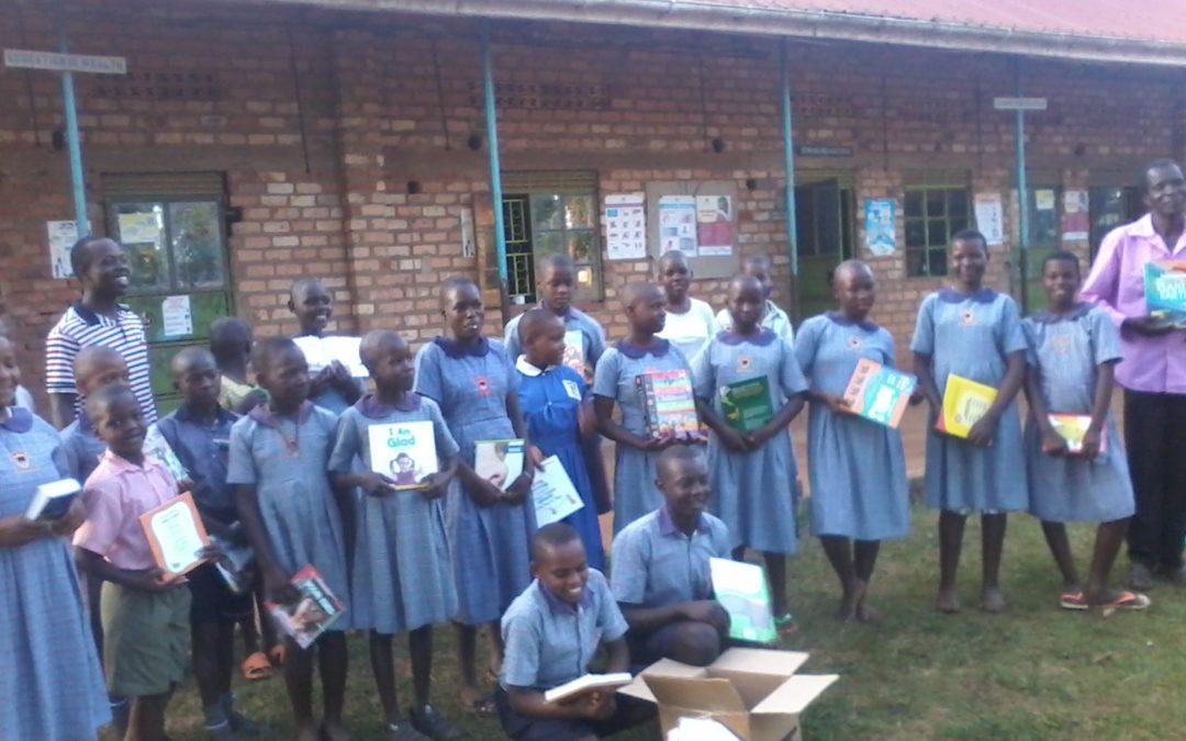 First Shipment of Books Arrive in Uganda